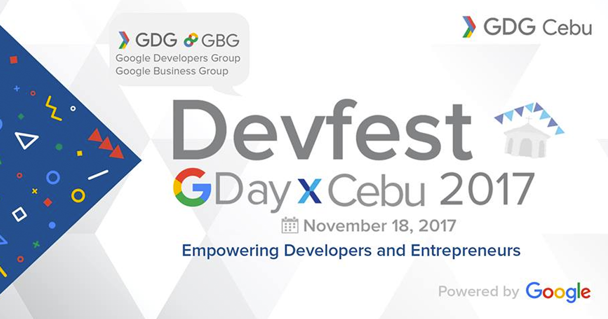 DevFest GDayX Cebu Alang sa Kaugmaon sa Teknolohiya